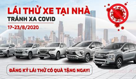 Mitsubishi Ninh Bình triển khai hoạt động lái thử xe tại nhà