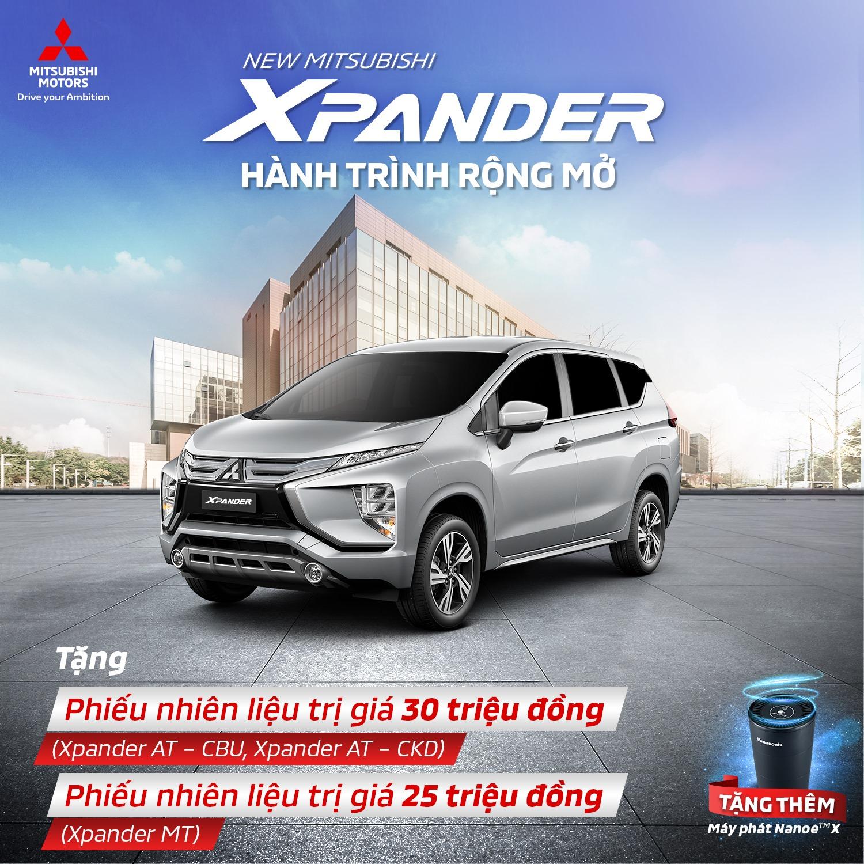Mitsubishi Xpander tiếp tục lấn lướt đối thủ tại Việt Nam